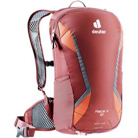 deuter Race X Backpack 12l, redwood/paprika